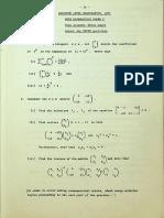 1971 AL Pure Mathematics Paper 1, 2