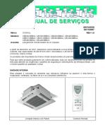 Cassete Consul 36 e 48000 Btu