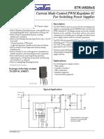 Sanken STR W6051S Datasheet