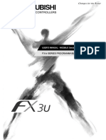 FX3U SERIES PLC,MODBUS Serial Communication Edition