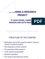 Choosing a research project ppt.ppt