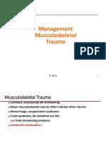 31. Management Musculoskeletal Trauma