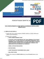 Tata Tertib SBMPTN 2017