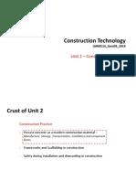 Manufacturing of precast concrete