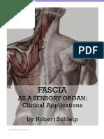 The Fascia as a Sensory Organ