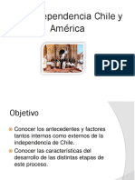 Independencia de Chile y America