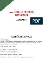 Agregados Conocimiento y estudio de los materiales