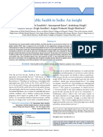 Dental Public Health in India an Insight