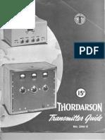 Thordarson TX Guide 344E