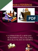 Generos Literarios Slides