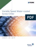 York Standard Efficiency Screw Chiller With VSD