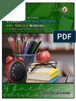 Practice Teaching Manual 2019