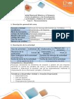 Guía de Actividades y Rúbrica de Evaluación - Fase 0 - Reconocimiento de Presaberes