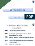 2015 2016 FRA Cours 4. Poliomyelite