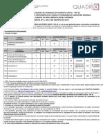 3 CRF-ES Concurso Público 2019 Edital 1