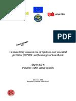 Evaluacion sismica de sistemas de agua