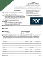 Form 24 Com - Liquidation Report
