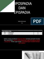 Hipospadia Dan Epispadia