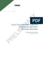Configuracion Cisco Catalist2960X