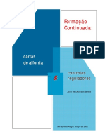 Formação continuada - cartas de alforria & controles reguladores