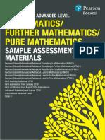 International a Level Maths SAMs1
