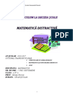 Matematica Distractiva Optional Suport Curs (1)