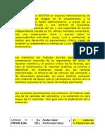 Espistemología Trabajo y Memoria.