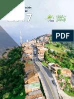 Informe de Gestión y Sostenibilidad 2017