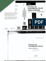 SIERRA BRAVO TecnicasdeInvestigacionSocial