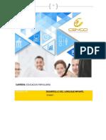 Cuaderno 1-Unidad I-Desarrollo Del Lenguaje