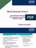 CETA - Proc. Triburario-IVA-Impoconsumo -Regimen Simple - Ley 1943 de 2018-VF