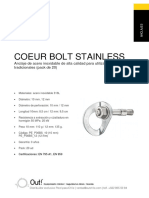 An Pro p36bs Coeur Bolt Stainless