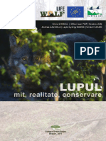 Monografie Lupul Mit Realitate Conservare 2017