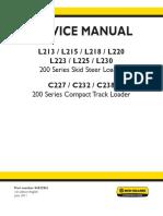 new hollan service manual 200 series