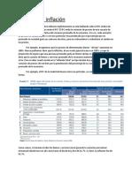 Apunte y Ejercicios Sobre Clase de Inflación