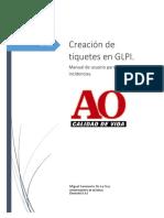 Manual de Usuarios Glpi Para Creacion de Tiquetes