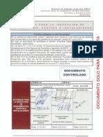 Inspección de Herramientas, Equipos e Instalaciones