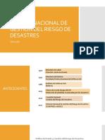 Sistema Nacional de Gestion Del Riesgo de Desastres