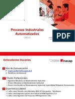 1 Procesos Industriales Automatizados SMEI02 P2019