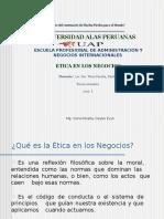 Etica en Los Negocios