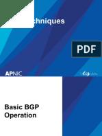 TROU09 BGP Techniques