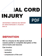 Spinal Cord Injury POC