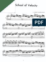 Ejercicios de velocidad piano pdf