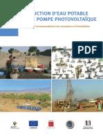 Adduction d'Eau Potable Avec Pompe Photovoltaique