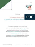PROYECTO PALABRAS HABITADAS