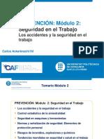2. UPC MGI 2017 Clase Presencial N° 2 Modulo 2 Accidentes y Seguridad Trabajo (1)