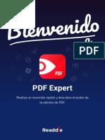 Bienvenido a PDF Expert