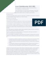 Condiciones Politicas de Colombia