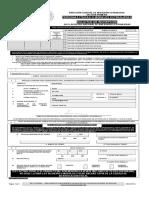 Formato Inscripción Ante El Registro de Personas Físicas y Morales