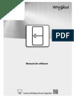 Manual de Utilizare Combina Frigorifica Moderna Whirlpool